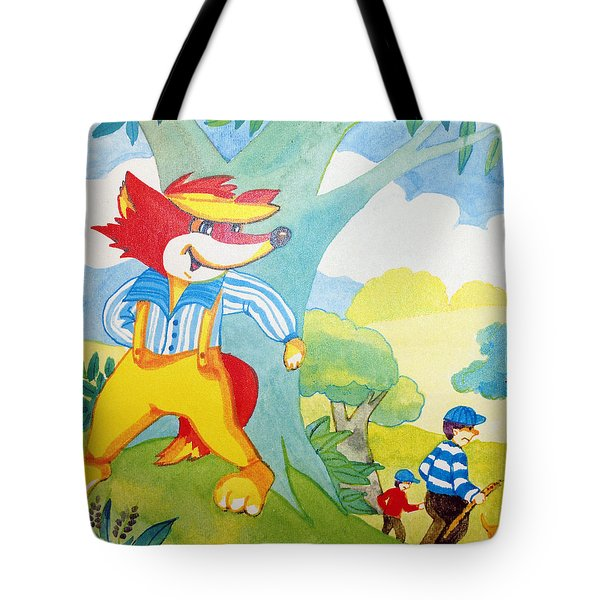 The Boys In The Hood Tote Bag by Robert Margetts