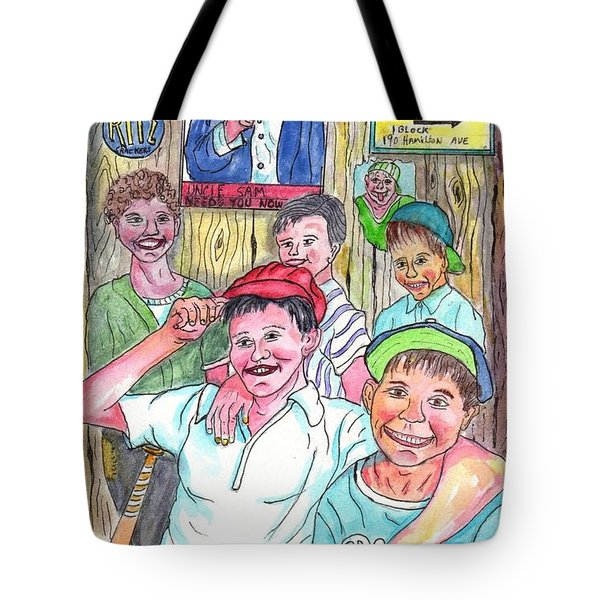 The Boys Of Spring Tote Bag
