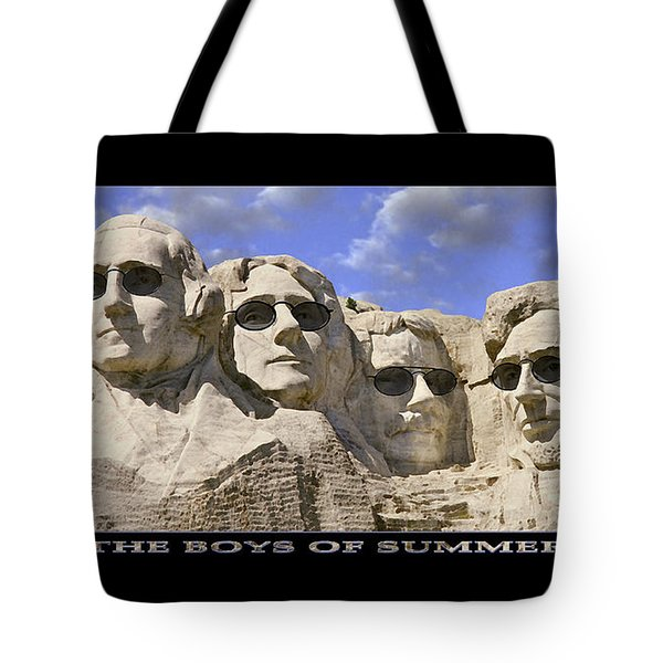 The Boys Of Summer Tote Bag by Mike McGlothlen