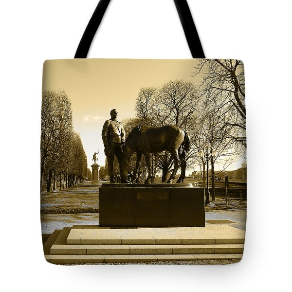 The Brave Soldier Tote Bag