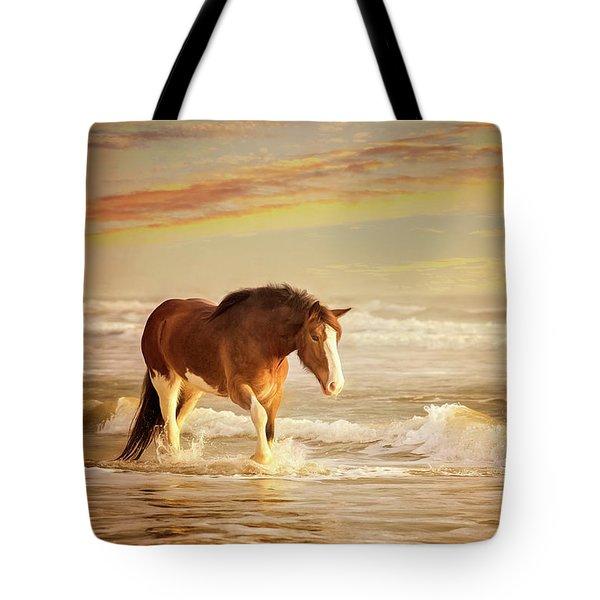 The Break Of Dawn Tote Bag