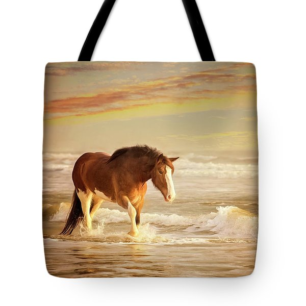 The Break Of Dawn Tote Bag