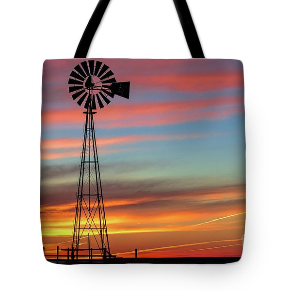The Break Of Day Tote Bag by Jim Garrison