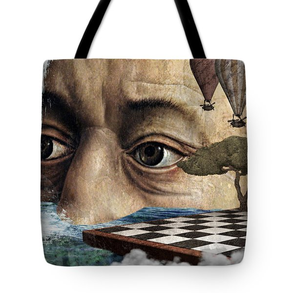 The Breaking Point Tote Bag by Ally White