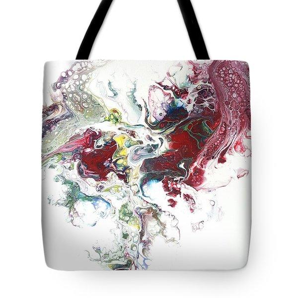 The Breath Of The Crimson Dragon Tote Bag
