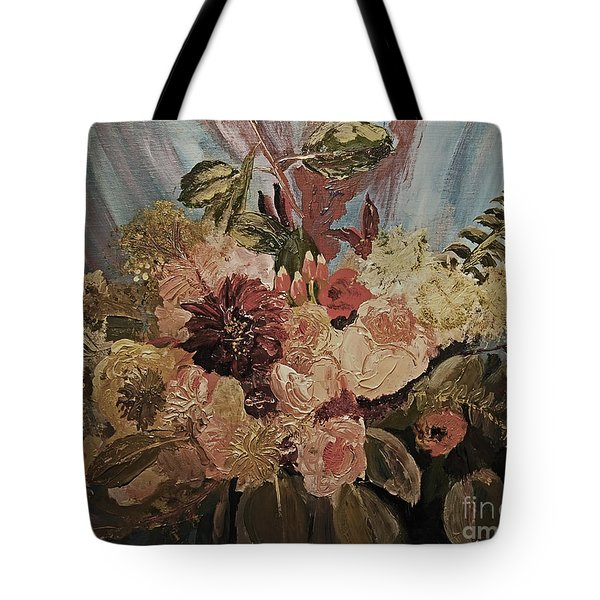 The Bridal Bouquet Tote Bag