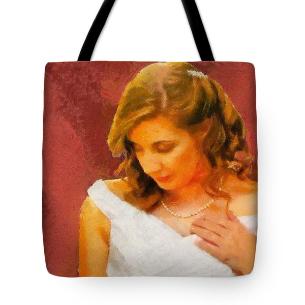 The Bride To Be Tote Bag by Jeff Kolker