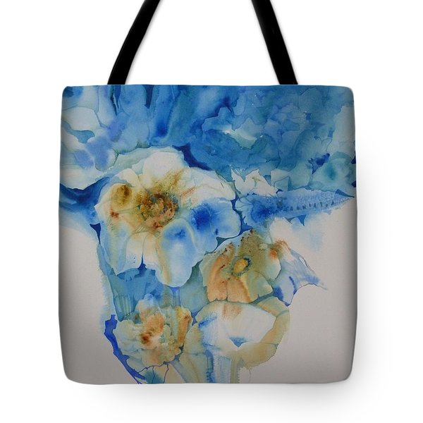 The Bride's Bouquet Tote Bag by Donna Acheson-Juillet