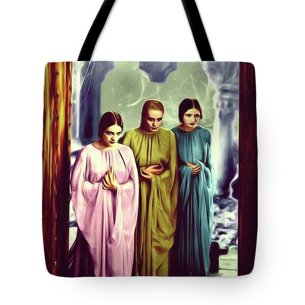The Brides Of Dracula Tote Bag