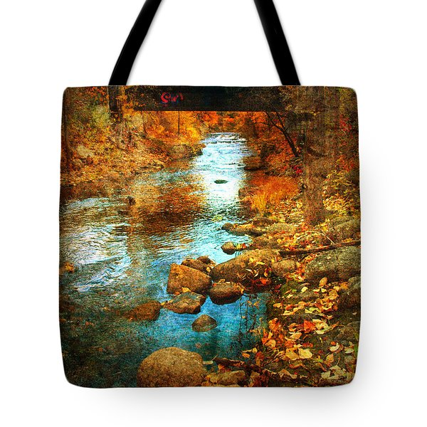 The Bridge By Government Street Tote Bag by Tara Turner