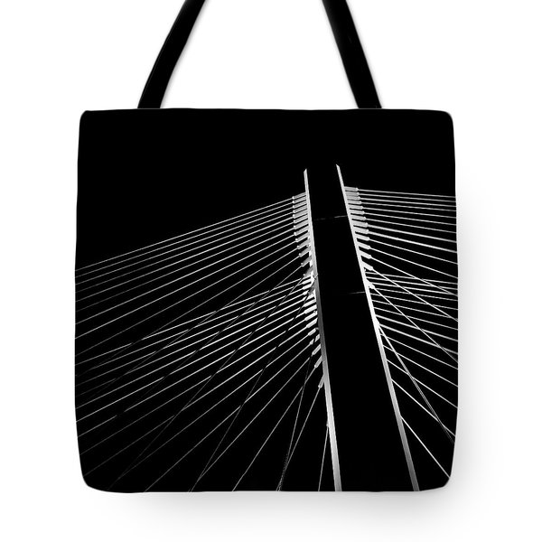 Tote Bag featuring the photograph The Bridge by Chris Feichtner