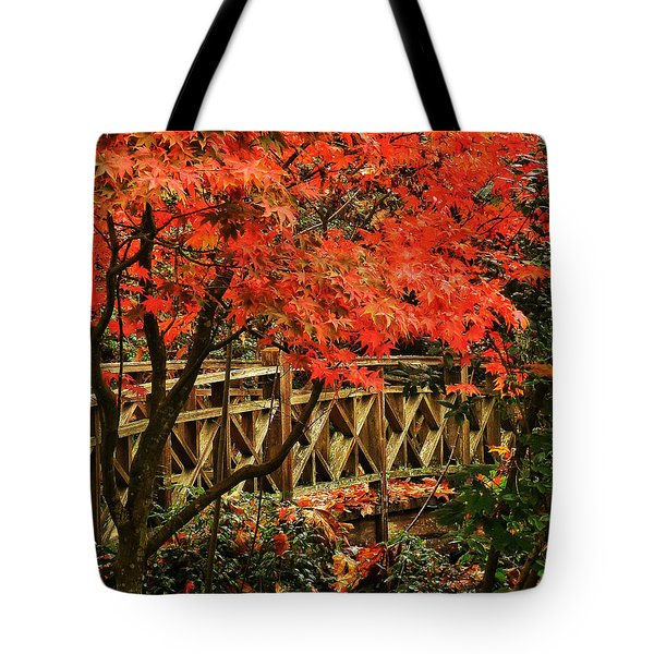 The Bridge In The Park Tote Bag