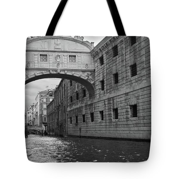 The Bridge Of Sighs, Venice, Italy Tote Bag
