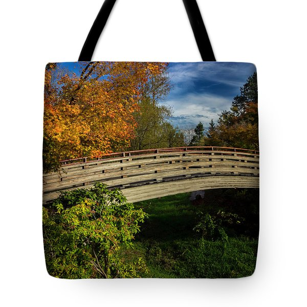 The Bridge To The Garden Tote Bag
