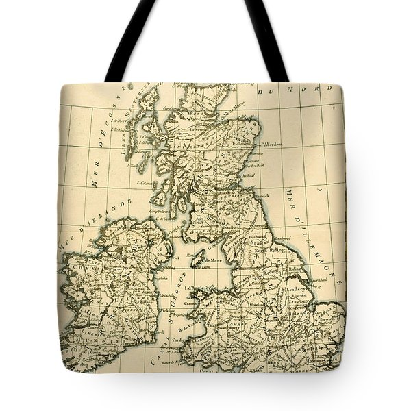 The British Isles Tote Bag by Guillaume Raynal