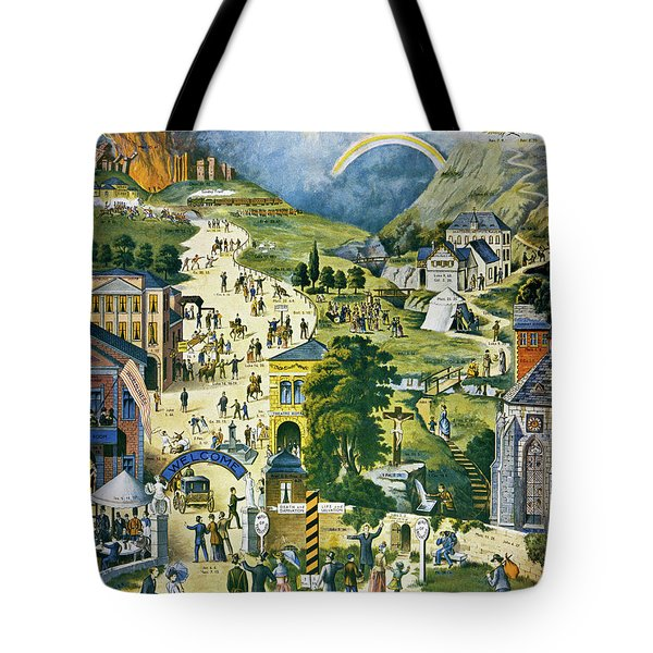 The Broad And Narrow Way To Heaven Tote Bag