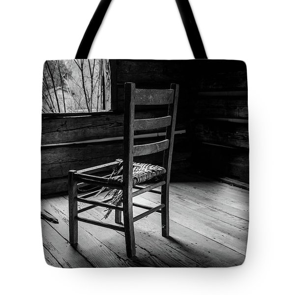 Tote Bag featuring the photograph The Broken Chair by Doug Camara
