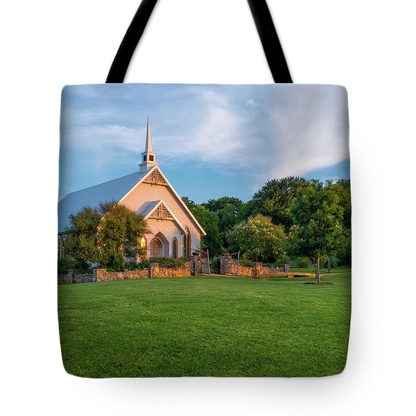 The Brooks At Weatherford Wedding Chapel Tote Bag