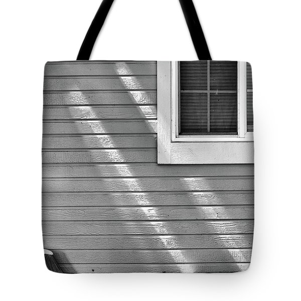 Tote Bag featuring the photograph The Broom And Sunbeams by Monte Stevens