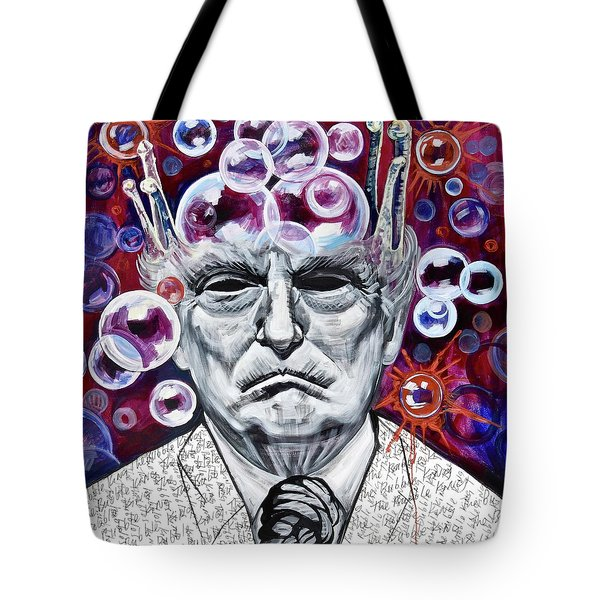 The Bubble King Tote Bag