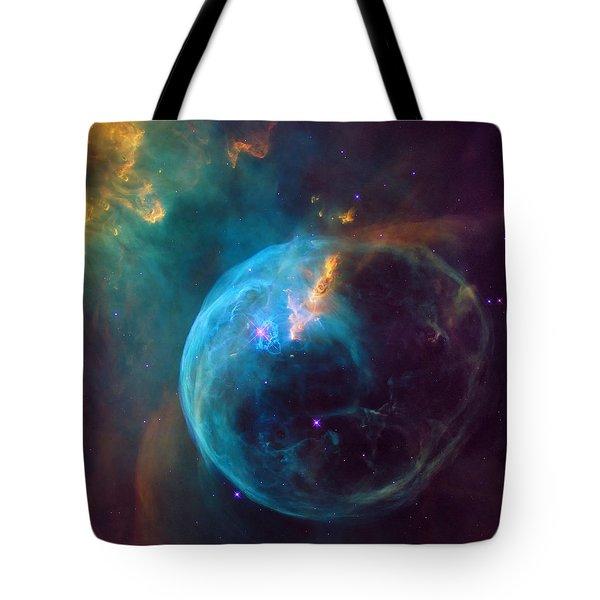 The Bubble Nebula Ngc 7653 Tote Bag