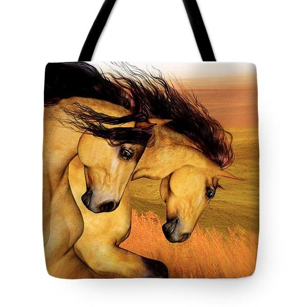 The Buckskins Tote Bag