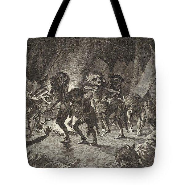 The Buffalo Dance Tote Bag