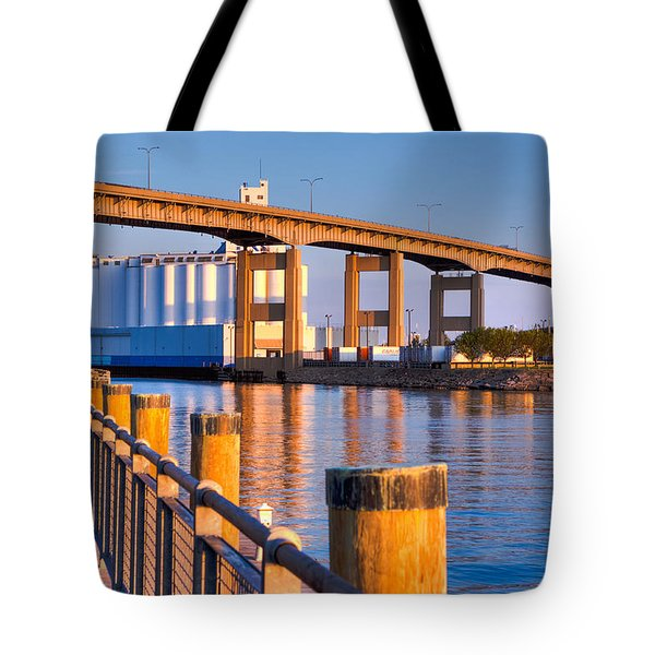The Buffalo Skyway Tote Bag
