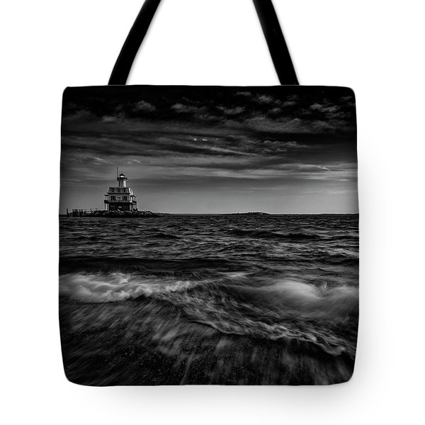 The Bug Light, Greenport Ny Tote Bag