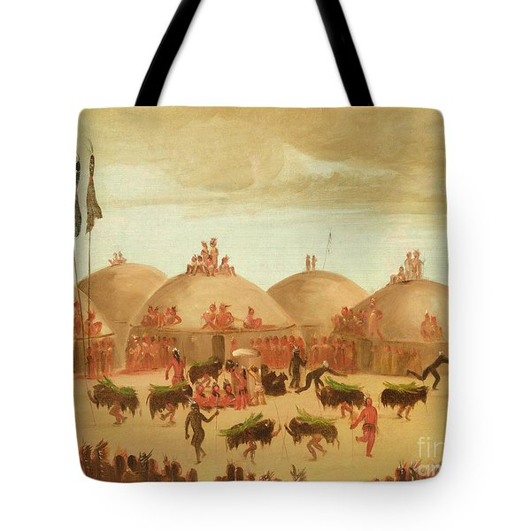 The Bull Dance Tote Bag