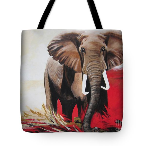 The Bull Elephant - Constitution Tote Bag