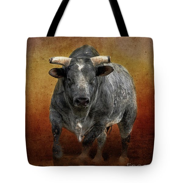 The Bull Tote Bag