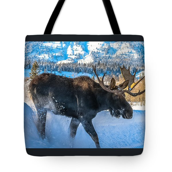 The Bulldozer Tote Bag by Yeates Photography