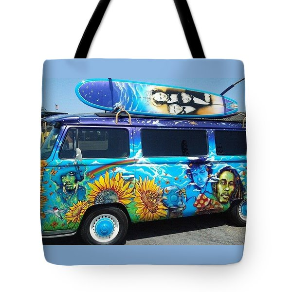 The Bus Tote Bag