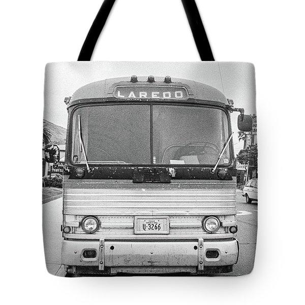 The Bus To Laredo Tote Bag