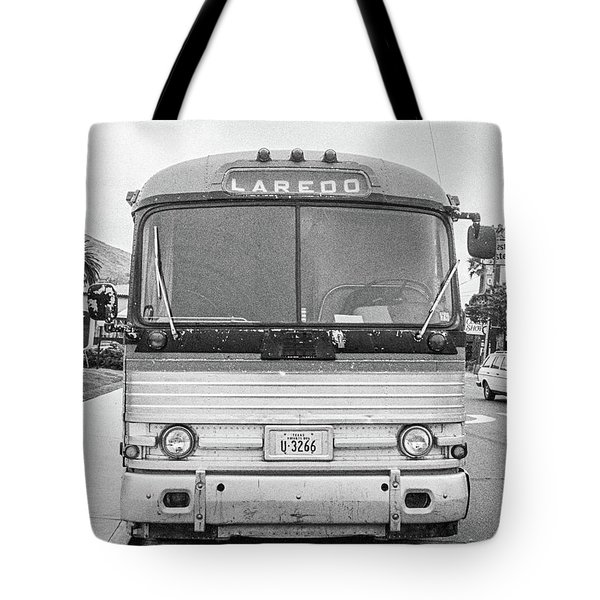 The Bus To Laredo Tote Bag