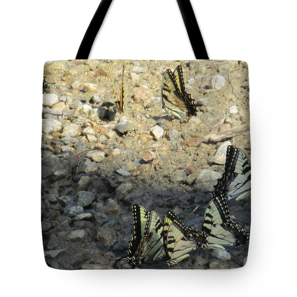 The Butterfly Dance Tote Bag by Charlotte Gray