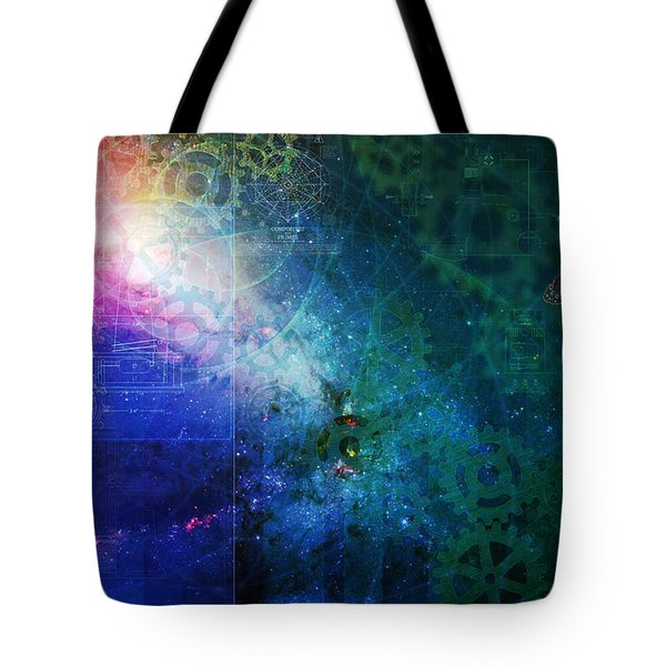 The Butterfly Effect Tote Bag by Kenneth Armand Johnson