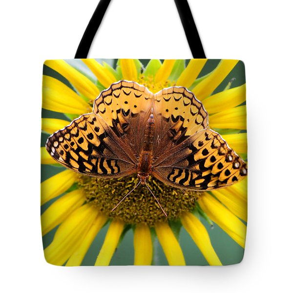 The Butterfly Effect Tote Bag by Tina  LeCour