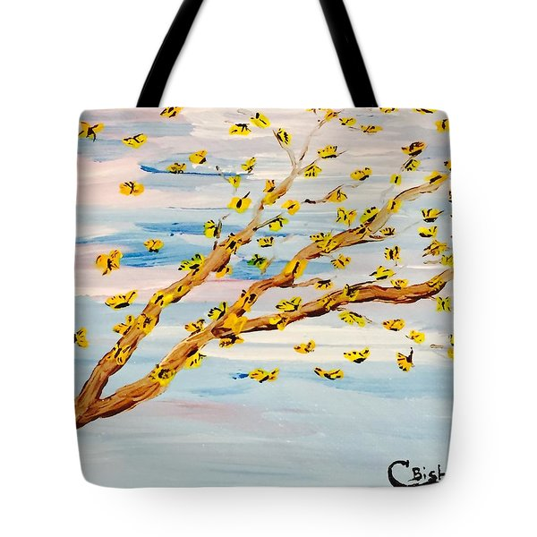 The Butterfly Tree Tote Bag