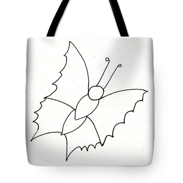 The Butterfly With No Spots Tote Bag