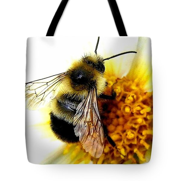 The Buzz Tote Bag by Will Borden