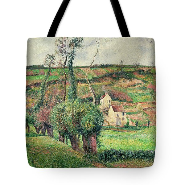 The Cabbage Slopes Tote Bag by Camille Pissarro