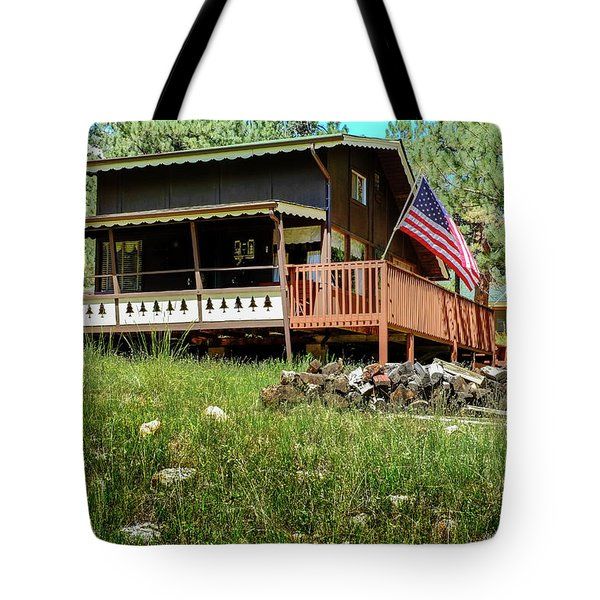 The Cabin Tote Bag by Ron White