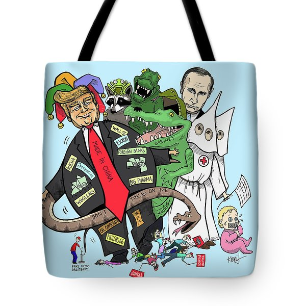 The Cabinet Tote Bag