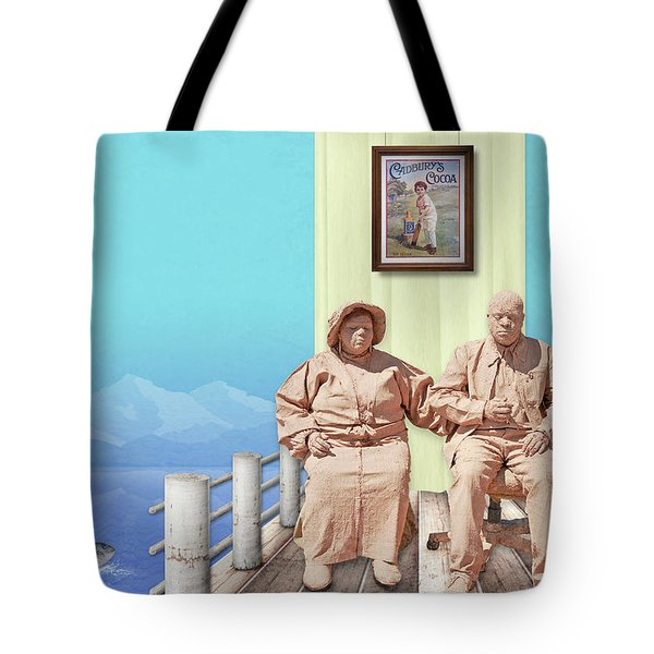 The Cadburys On Vacation Tote Bag