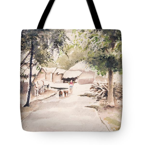 The Call Of Morning Tote Bag