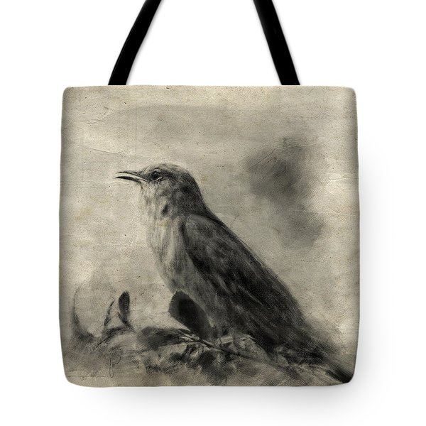 The Call Of The Mockingbird Tote Bag