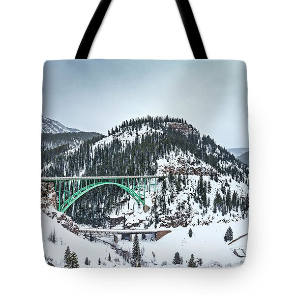 The Call Of The Rockies Tote Bag