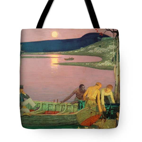 The Call Of The Sea Tote Bag by Frederick Cayley Robinson